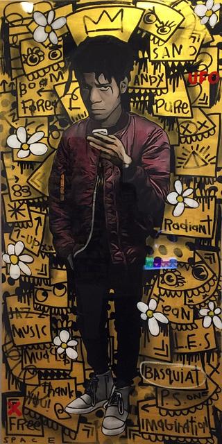The Producer BDB, 'Basquiat - Gold', 2016, Rosenbaum Contemporary