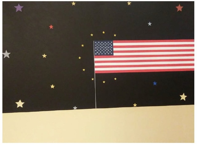 , 'Endless American Flag,' 2016, Kewenig Galerie