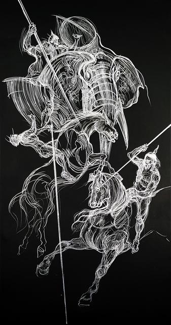 , 'The Battle,' 2017, CAMA Gallery