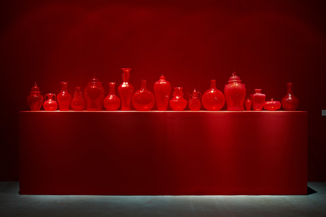 , 'Installation view of Ghost series - Red,' 2009, Gallery SUN Contemporary
