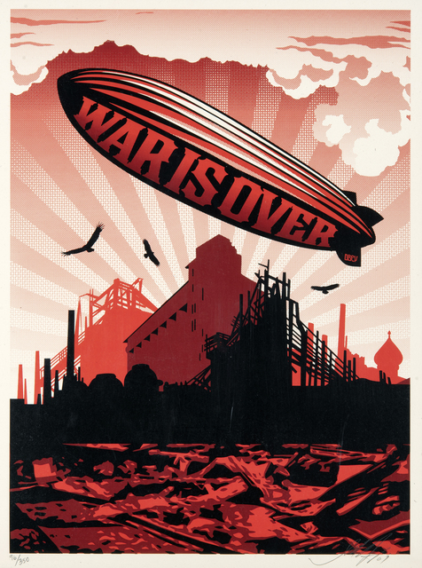 Shepard Fairey, 'War Is Over', 2007, Tate Ward Auctions