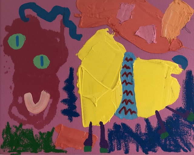 , 'Goat,' 2017, Kalkman Gallery