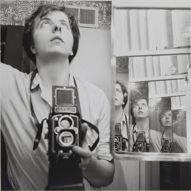 , 'Self portrait, Chicago area,' 1956, Galleria Valeria Bella