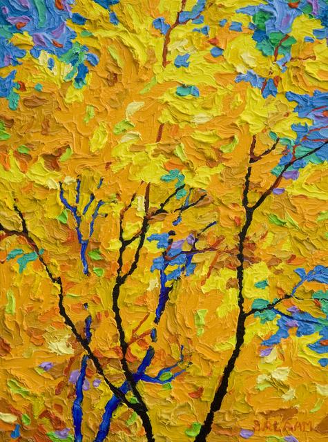 , 'Gem - Days of Indian Yellow I,' 2018, Ventana Fine Art
