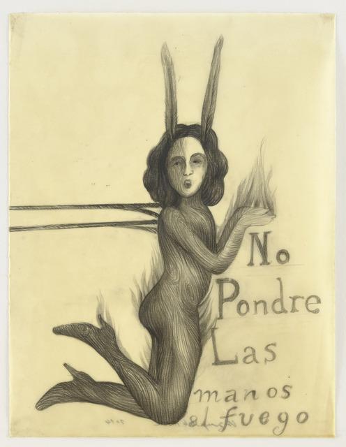 , 'No Pondré Las Manos al Fuego,' 2014, Wooson Gallery