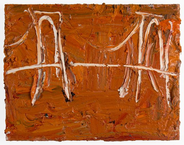 , 'Orange Bridge,' 2017, FRED.GIAMPIETRO Gallery