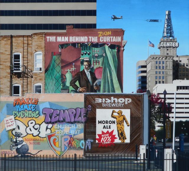 , 'The Man Behind The Zion Curtain,' 2017, Modern West Fine Art
