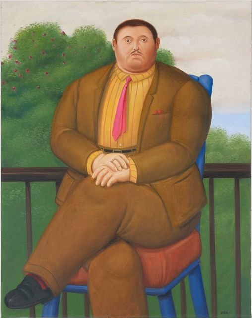 , 'Man on a Balcony,' 2011, Art Of The World Gallery