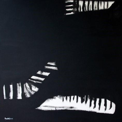 , 'Mozart Concerto No. 7 for 3 pianos,' 2018, NN Gallery