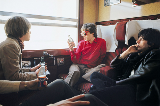 , 'The Rolling Stones on the Train from Marseilles, 1966,' 1966, TASCHEN