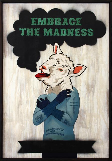 , 'Embrace The Madness,' 2016, MASAHIRO MAKI GALLERY