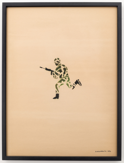 , 'Untitled (Running Soldier in Camouflage),' 1982, P.P.O.W