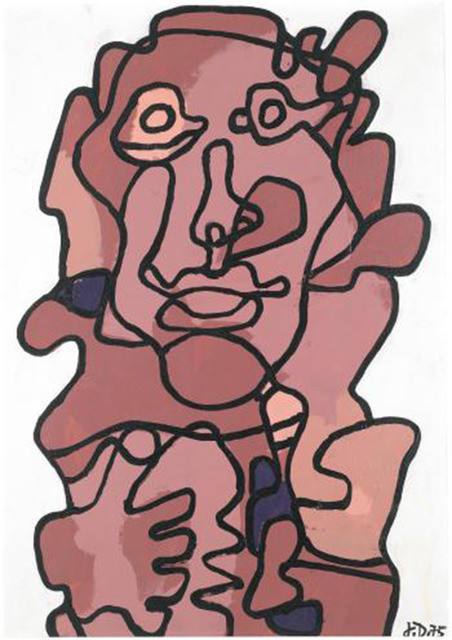 , 'Effigie Incertaine X,' 1975, Rosenbaum Contemporary