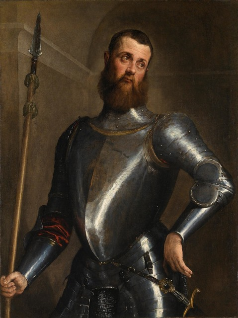 , 'Portrait of a Man in Armour,' ca. 1560, Robilant + Voena