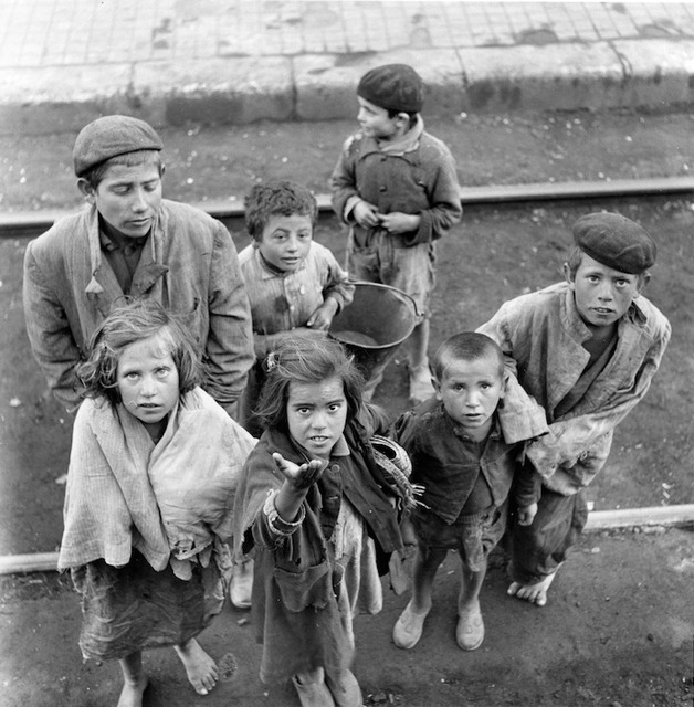 , 'Begging Children, Spain. April 1, 1951,' 1951, Artist's Proof