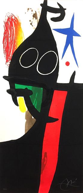 Joan Miró, 'Le Serrasin à L'étoile Bleue (Buckwheat with Blue Star)', 1973, Print, Etching, aquatint, and carborundum., Masterworks Fine Art
