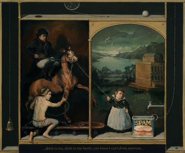 Alan Macdonald, 'Leading a Horse to Water', 2017, Tatha Gallery