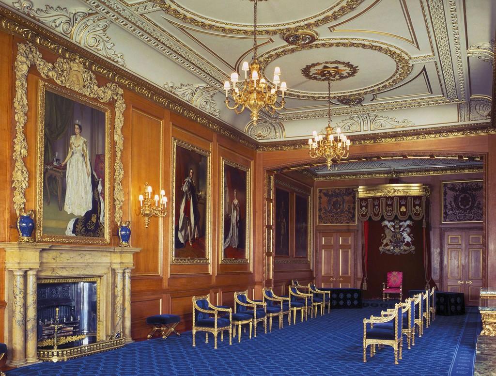 Garter Throne Room, Windsor Castle | Artsy
