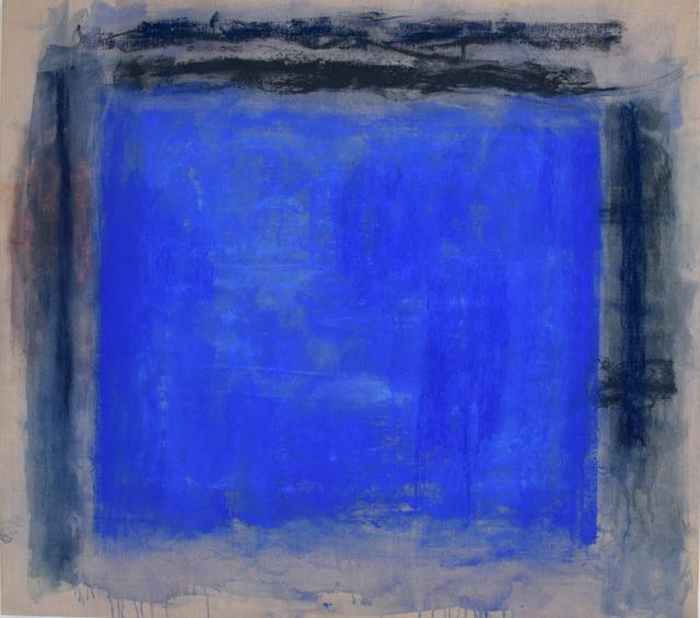 Monique Frydman, 'Senantes 3', 2017, Painting, Pastels, pigments et liant sur toile de lin, Bogena Galerie