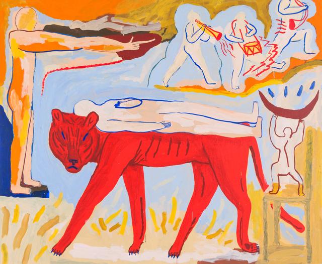 , 'Le Tigre pour Pauline. Ciao chaton.,' 2018, Urban Spree Galerie
