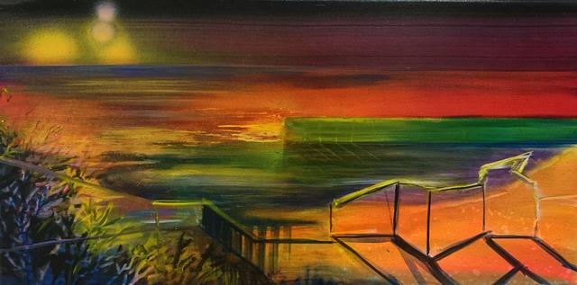 , 'Red Desert Water,' 2016, Galerie Sandhofer