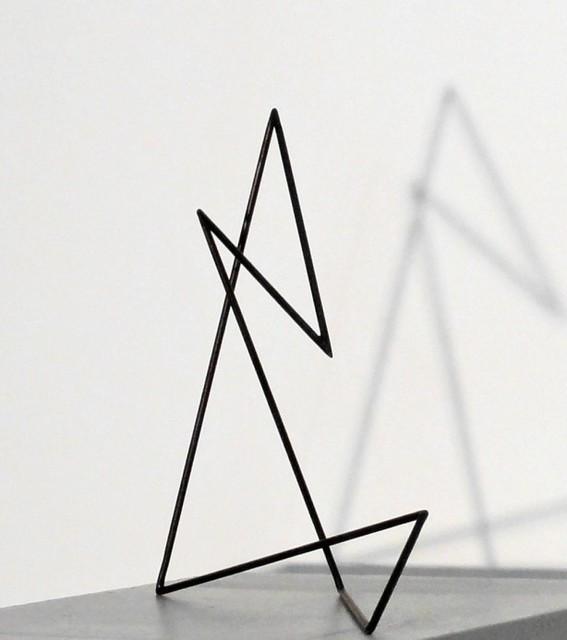 , 'Trait 20 violet foncé,' 2012, Galerie Marie-Robin