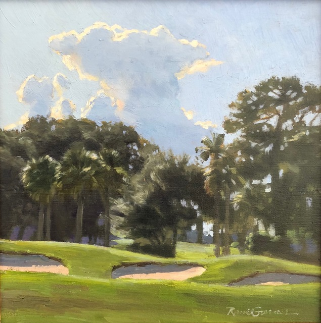 , 'Island Greens,' 2018, Anderson Fine Art Gallery