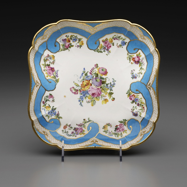 , 'Two Square Fruit Dishes (Part of a Dessert Service),' 1782, The Frick Collection