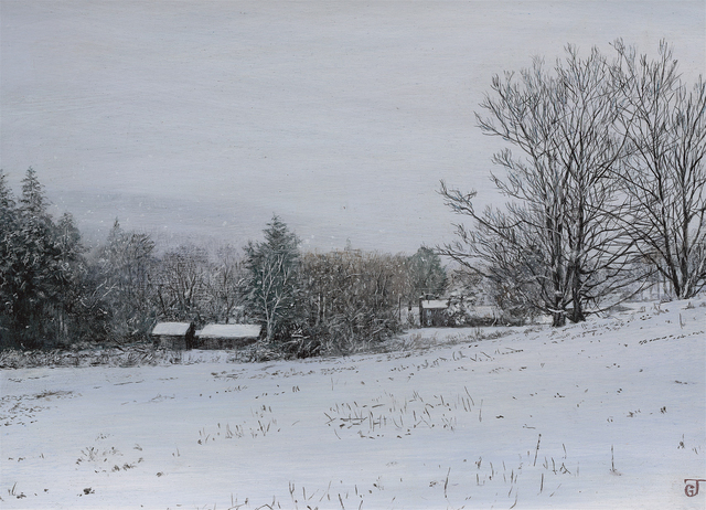 Jeff Gola, 'Snow Storm at Tyringham', 2018, William Baczek Fine Arts