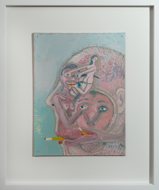 , 'her ex exhale her,' 2018, GNYP Gallery