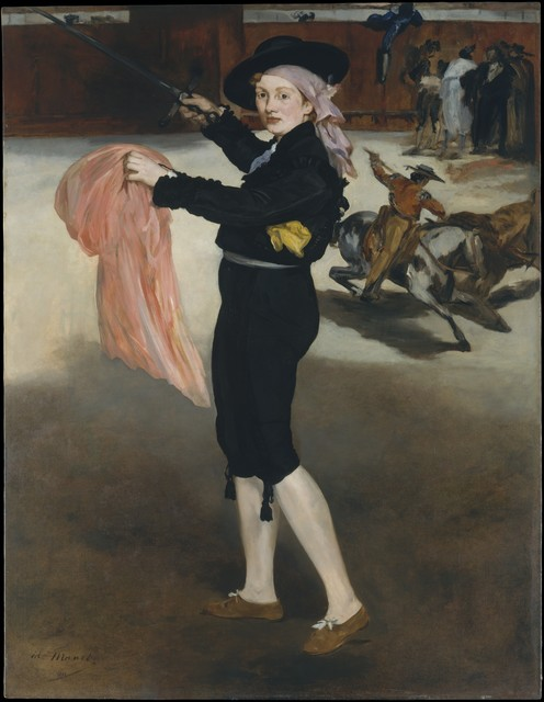 Édouard Manet, 'Mademoiselle V. . . in the Costume of an Espada', 1862, The Metropolitan Museum of Art