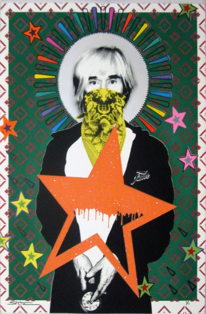 STATIC, 'Andy: Stardom', 2014, Print, Screen print with diamond dust on paper, Collectors Contemporary
