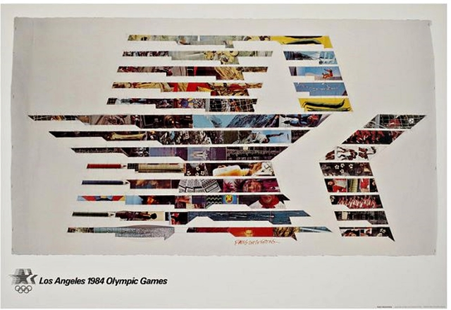 Robert Rauschenberg, 'Los Angeles 1984 Olympic Games (with Olympic Committee COA)', 1982, Alpha 137 Gallery
