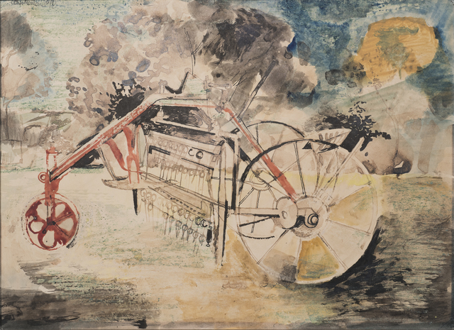 , 'The Farm Machine,' 1948, Osborne Samuel