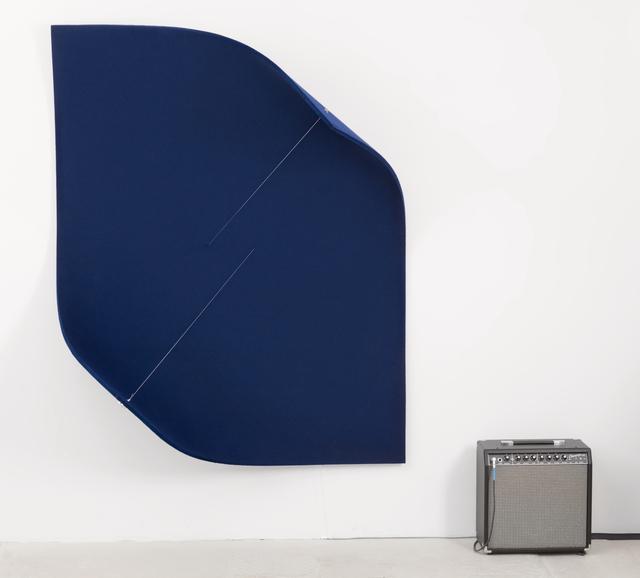 , 'Work On Felt (Variation 15) Dark Blue,' 2017, Kunsthaus Baselland