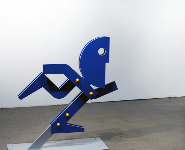 , 'Blue Runner,' 2012, O. Ascanio Gallery