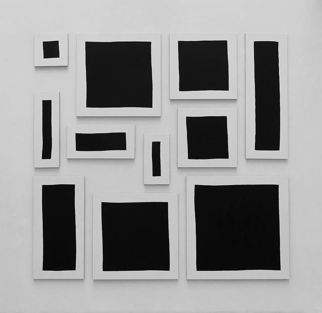 , 'Bloc,' 2015, Galerie Jean Brolly