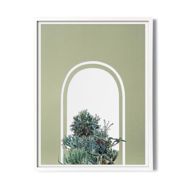 , 'Overgrown (Window),' 2018, Carrie Secrist Gallery