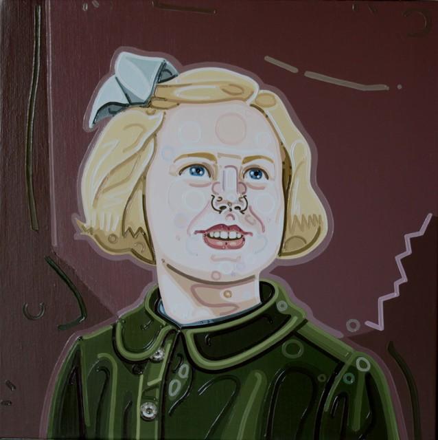 Julie Roberts, 'Girl with Blue Ribbon', 2010, Andréhn-Schiptjenko