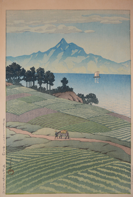 , 'Mt. Unzen from Amakusa,' 1937, Ronin Gallery