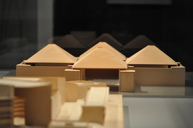 , 'Jewish Community Center (model),' 1991, Bellevue Arts Museum