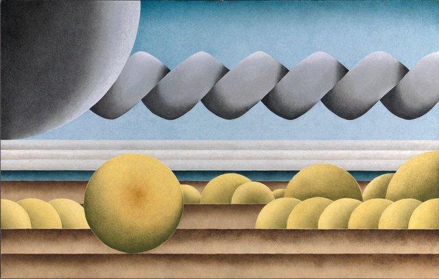 , 'Constable Landscape II,' 2012, Louis Stern Fine Arts