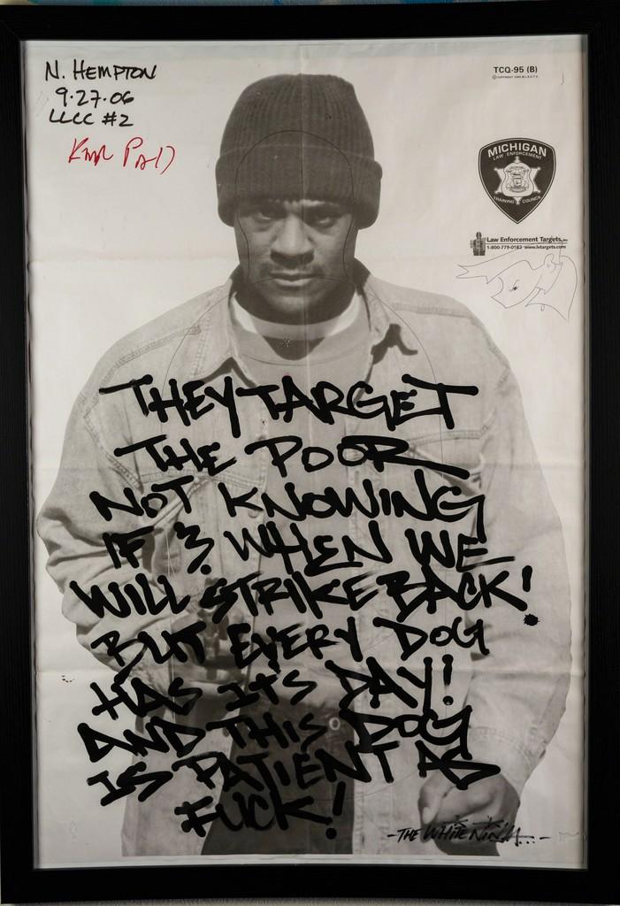 https://www artsy net/artwork/the-white-ninja-aka-jaber-fuck-the-police