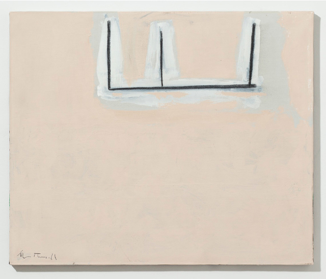 , 'Open No. 133: Charcoal on Beige,' 1969, Pearl Lam Galleries