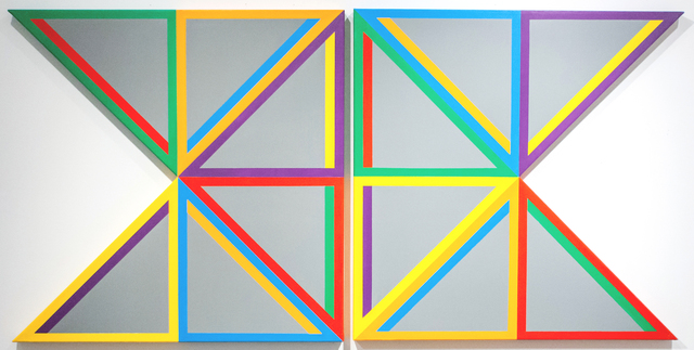 , 'Gray Triangle,' 2013, Alfa Gallery