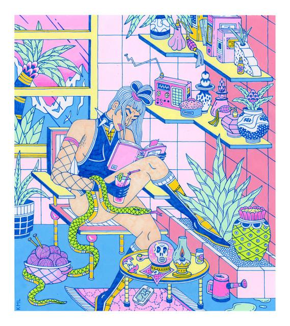 Kristen Liu-Wong, 'A Nice Evening In', 2018, Adah Rose Gallery