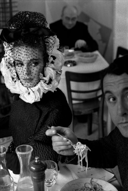 , 'Pour Harper's Bazaar, Haute Couture Avec Deborah Dixon (Spaghetti Girl, Rome),' 1968, Holden Luntz Gallery