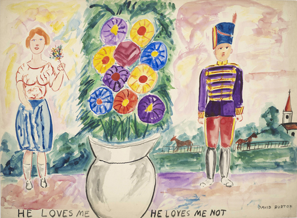 , 'He Loves Me He Loves Me Not,' ca. 1938, Rob Tufnell