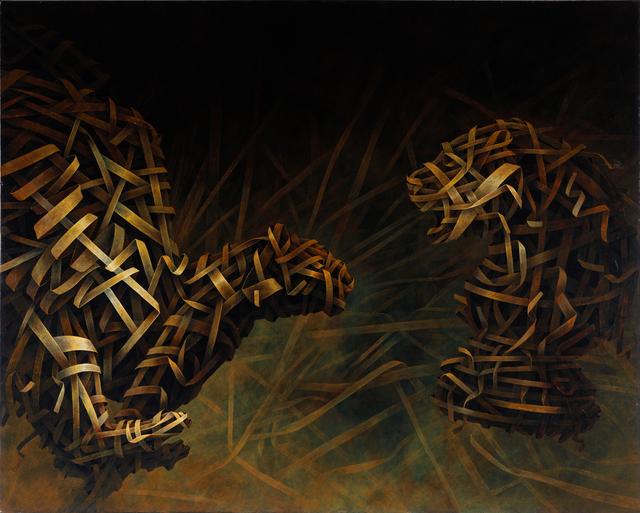 , 'Lioness Mirror 2,' 2012, ARTSPACE 8