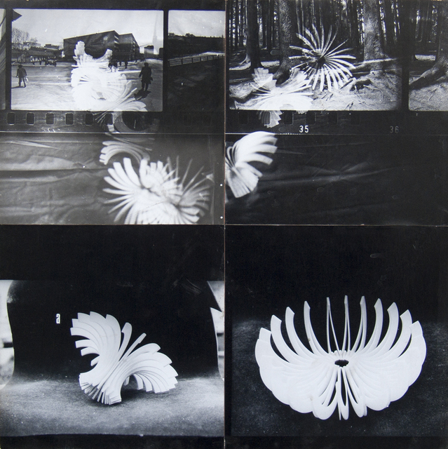 , 'The stroboscopic perception of the transformable Sphere ,' 1980, Art Encounters Foundation